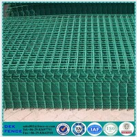 Decorative Metal Fences Wire Fencing Plastic Coated Wire Mesh Panels