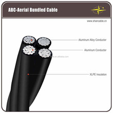 Overhead XLPE insulation Aerial Bundled Cable