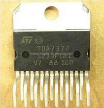Audio frequency amplifier chip TDA7377