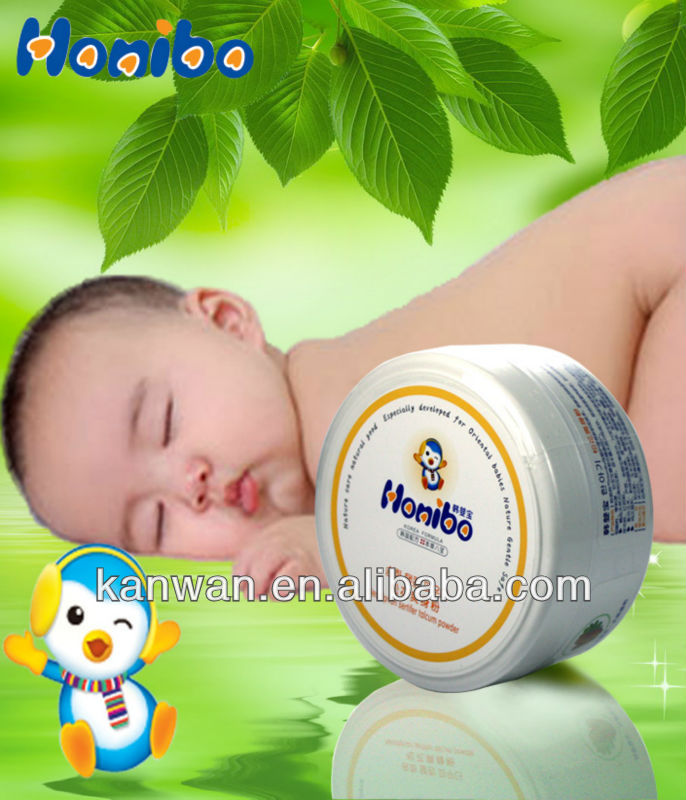 Natural herbal baby powder series 140g baby powder,Pine pollen powder