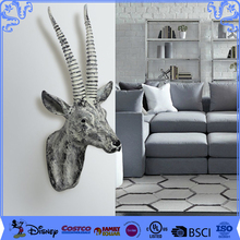 Promotion Gifts Resin Animal Head Home Wall Decoration