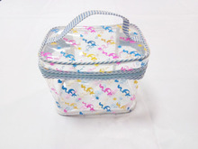 hot sell clear pvc cosmetic bag with handle