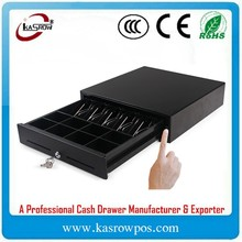 KM-410 Pos System Manual High Quality Cash Drawer Slide Series Money Drawer Front Lock
