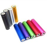 2600mAh Metal Portable External Battery Powerbank