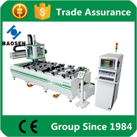 horizontal wood industry drilling machine/wood multi spindle drilling machine