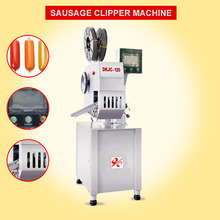 sales stainless steel electric mechanical sausage/meat/pork/beef poly tying clipper/sealing machine with sausage casing clips