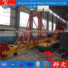 Price of chain bucket iron powder dredger with pump