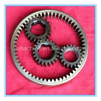 Customized Small/Large Steel Ring Gear with high precision made by whachinebrothers