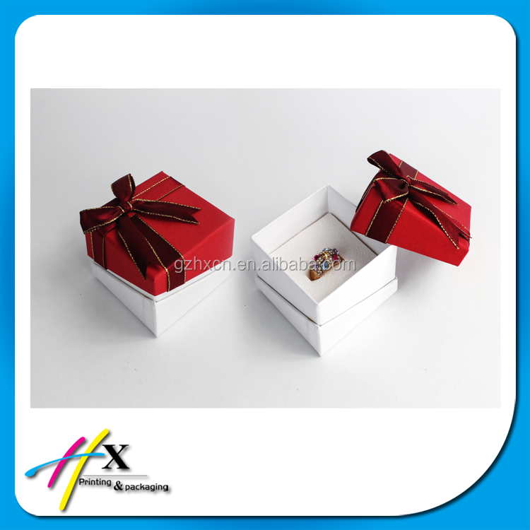 China Alibaba Universal Paper Jewelry gift Box For Ring