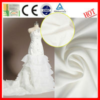 wholesale wicking bridal satin fabric for dress\ bridal satin fabric