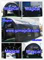 Black Color Inflatable Temporary Tent for Event
