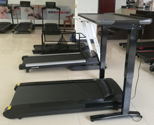 Brand new fitness walking machine for office furniture treadmill with wireless LCD display