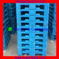 2015 New Design Stackable Water Transporting Plastic Pallet