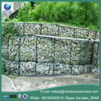 pvc hexagonal gabion mesh container reno gabion mattress gabion wire mesh box