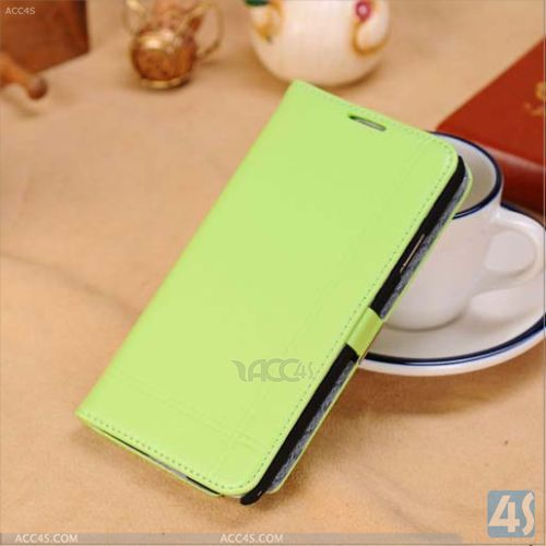 Genuine Leather Flip Case for Samsung Galaxy Note 3 P-SAMN9000CASE041