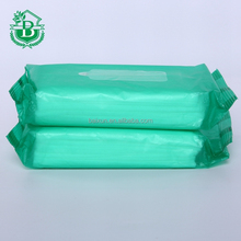 facial make up wipes packaging, custom print wet tissue bag/ pouch