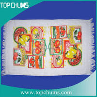 Cheap wholesale sublimation cotton thin tea towel