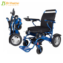 Small folding electric power wheelchair with lithium battery