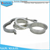 Sanitary Stainless Steel 6 Inch Single