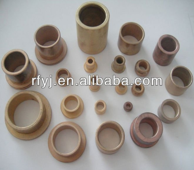 sintered Oilite Bushing / Bronze bushing bearing