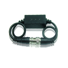 AHD/TVI/CVI HD CCTV Camera Video ground loop isolator,Connect to BNC Coaxial Cable