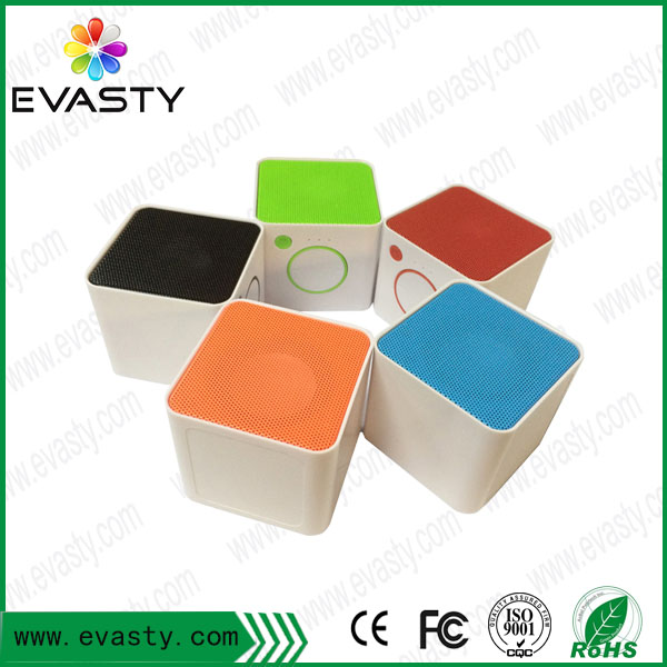 New Products Cube Square Bluetooth Speaker Promotional Gifts Box For Wholesale