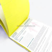 Carbonless paper printing duplicate invoice books invoice book