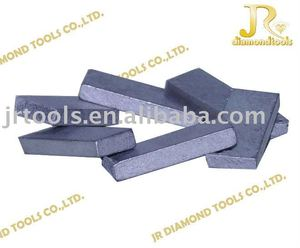 Marble cutting diamond segment for gang saw