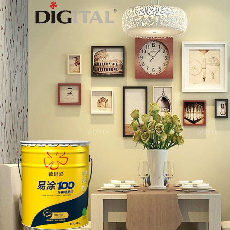 Indoor high whiteness acylic latex wall paint