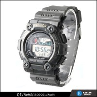 low price digital module fashion plastic case watch