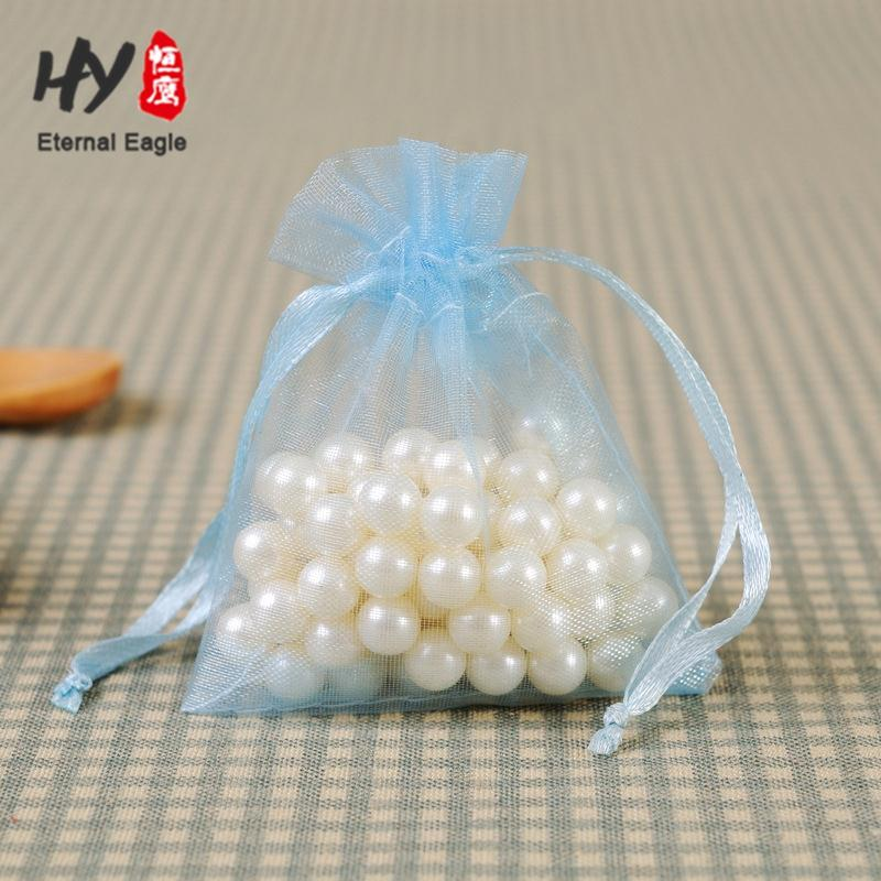 Numerous in variety organza bags