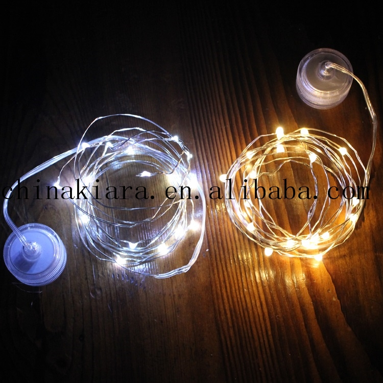 Top Sale Super Bright 10L 20L 2032 Battery copper wire led string light