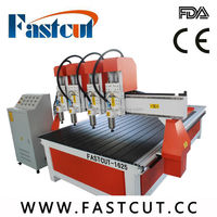 Factory price ceramic tiles coated metals tea table single Head multi-heads used cnc wood carving machine