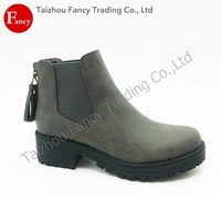 Custom High Quality Leisure Wearing Non Slip Winter Boots For Women