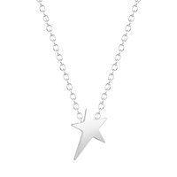 Beautiful Anniversary Optional Pentagram Star Necklace Pendant Collares Minimalist Jewelry Gift for Girls and Women jewelry