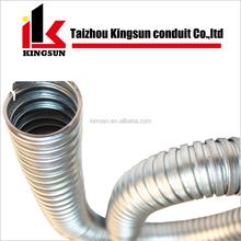 Galvanised Steel Electrical Corrugated Flexible GI Metal Conduit