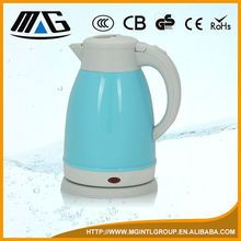 double shell electrical appliance CE/CB/GS/ROHS certified electric kettle
