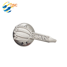 Wholesale Custom Suit Shirts Silver Cufflinks For Men
