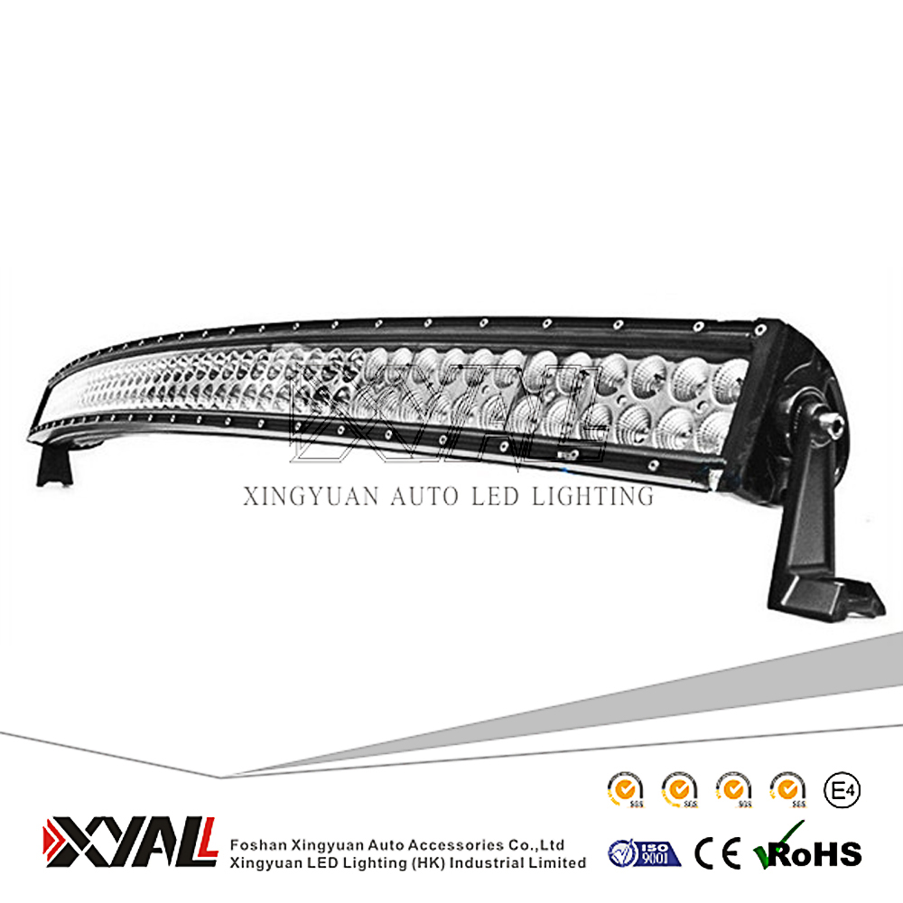 4x4 accessories spot light bars 300W 53 inch double row led curved work light bar ,offroad led driving light bars