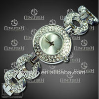 [Manufacturer] New products 2013 trendy bracelet quartz watch for ladies,precious stone bracelet watch for ladies (HK-148)