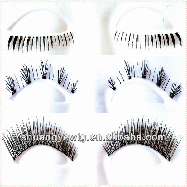 Hand-tied natural eyelashes,buy false eyelashes in bulk,private label eyelash packaging