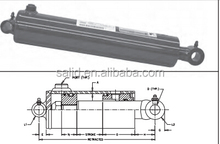 PMC-8308 Prince type ROYAL Welded-DA-Heavy Duty universal mountings hydraulic cylinder