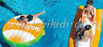 Water park inflatable floating mat, inflatable swim air mat D3063