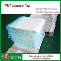 Made in China transparent pet film for screen print