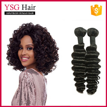 Wholesale Silky Water Wave Hair, 100% Brazilian Remy Virgin Human Hair Extension