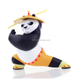 Customized OEM plastic movie KUNG FU panda figure toys,OEM movie animal model vinyl figures,PVC collection toys factory