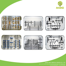 Names of orthopedic surgical instrument set medical supply