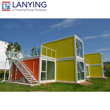 Light container office prefab container house