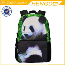 Animal Face Panda Full Print 3D Design XL Zipper Official Bistar Fashion Laptop Backpack Cool School student Bag