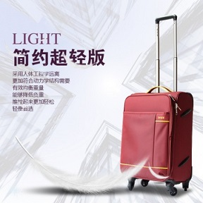 Best Selling cheap promotional travel EVA soft trolley luggage from foshan factory